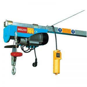 Міні-електрична підйомник MB200, електрична важільна лебідка