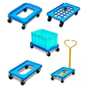 PD250 пластиковий контейнер для кошиків