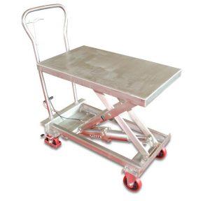 Підйомний стіл з нержавіючої сталі BSS10