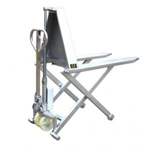 Високопідйомний ножичний візок HSG540M з нержавіючої сталі